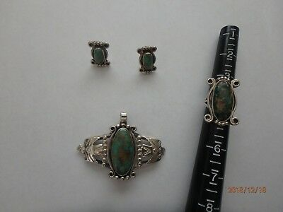 Wolf Robe (Wolf Robe Hunt Sterling Silver Jewelry Set, Signed, Collector's)