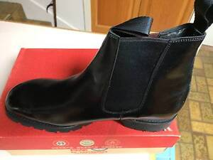 Florsheim Mens Black Leather Boots (Size 11.5) Wantirna Knox Area Preview