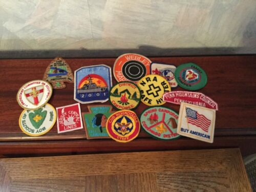 Vintage Lot Boy Scout  and other patches
