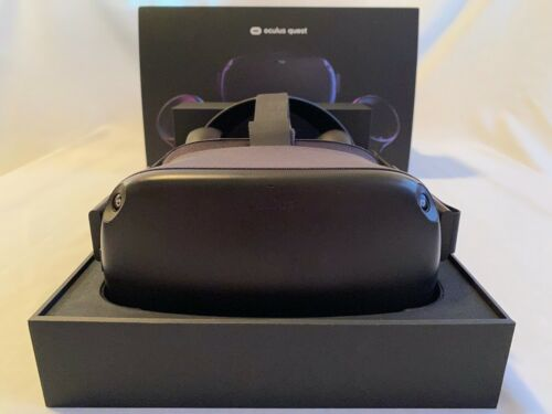 Oculus Quest 128GB VR Headset  Black 1st. Generation With Extras