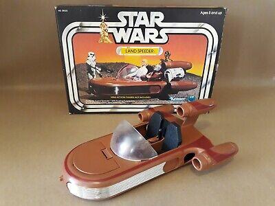 VINTAGE STAR WARS Land Speeder Kenner 1978 Very Good Condition With Original Box