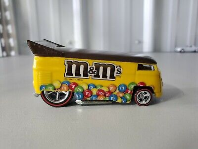 Hot Wheels Volkswagen Drag Bus M & M Loose Mint Real Riders