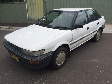 1989 Toyota Corolla Manual