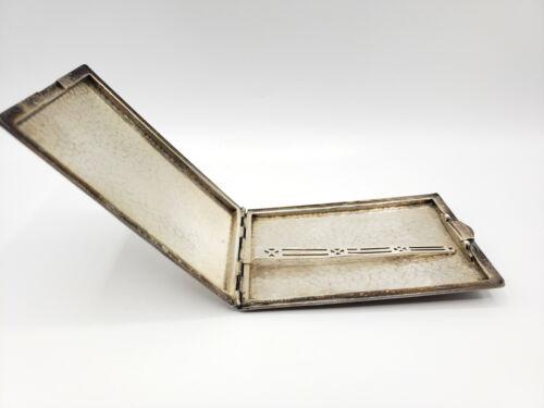 LARGE Hammered Sterling Silver Cigarette Case- Over 160 Grams of Solid Sterling!