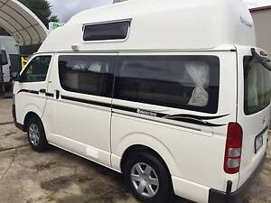 2009 Toyota hiace automatic 133000km campervan camper Invermay Launceston Area Preview