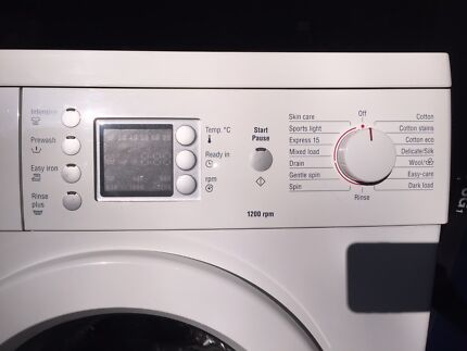 Bosch Washing Machine 7kg; 120 rpm Northbridge Willoughby Area Preview