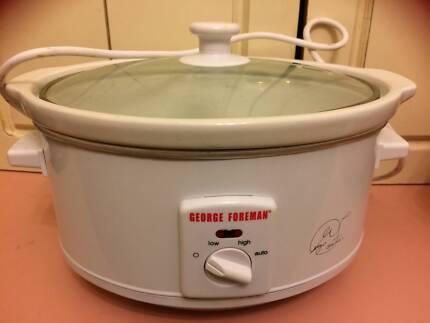 George Forman crock pot