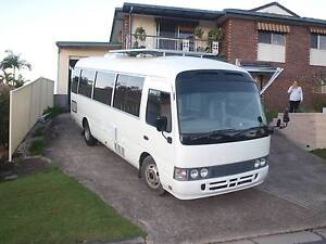 1996 Toyota Coaster LWB Motorhome Ashmore Gold Coast City Preview