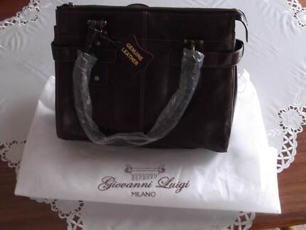 Giovanni Luigi Milano Italian Leather Handbag