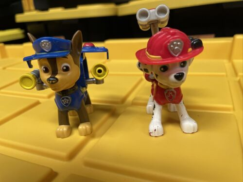 Paw Patrol Action Pack Pups Chase, Marshall 2 Action Figures