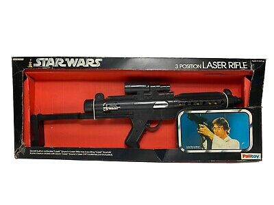 Vintage Star Wars Boxed Palitoy 3 Postion Laser Rifle
