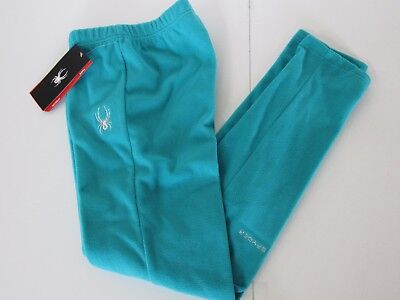 Spyder Momentum BLUEBIRD Plush Brushed Thick Fleece Pants Youth Girls sz XL