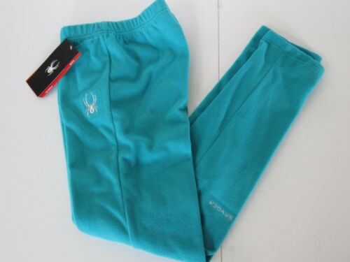 Spyder Momentum BLUEBIRD Plush Brushed Thick Microfleece Pants Youth Girls sz XL