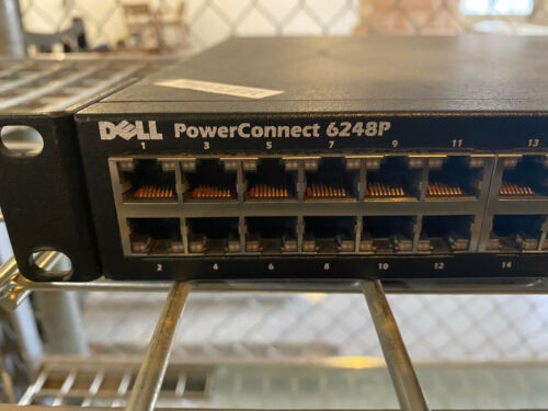 DELL POWERCONNECT 6248P W/ 10GE SFP+MODULE
