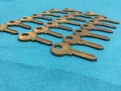 Master Padlock Key Blanks, Set of 20 - Locksmith