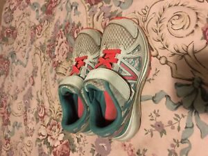 Girls size 2  New balance sneakers
