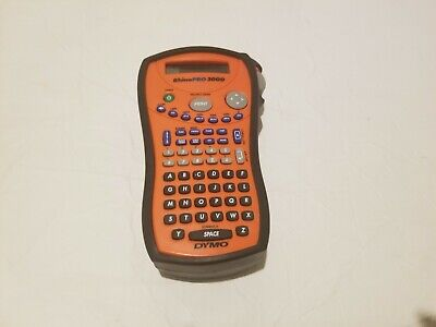 Dymo Rhino Pro 3000 Label Maker Thermal Printer Includes Rubber Case Labels