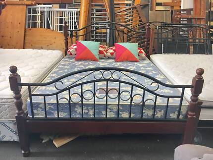 TODAY DELIVERY BEAUTIFUL FRENCH DESIGN Queen bed & mattress