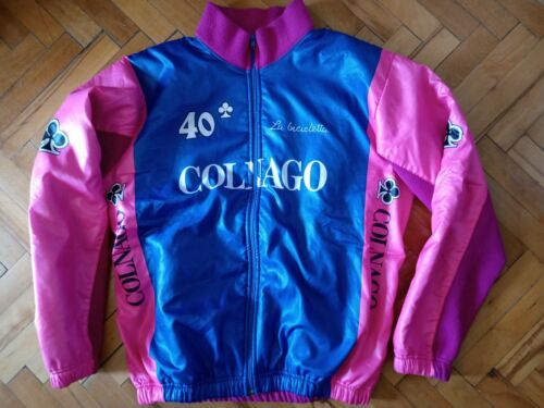 Cycling Colnago 40 Years Italy Vintage Jacket Size