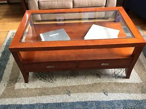 Wood Coffee Tables and End Tables