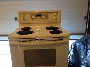 Bisque stove and OTR microwave