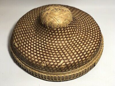 Sedge Rice Paddy Coolie Hat
