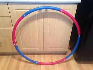 Exercise and have fun with a weighted Hoola Hoop