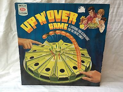 Vintage Up N' Over Game Ideal Toys 1970's Complete RARE