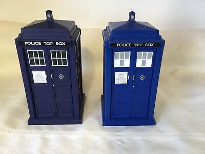 "2- Doctor Who 6 1/2"" TARDIS Electronic Spin & Fly Vehicle light & Sound  (UF156)"
