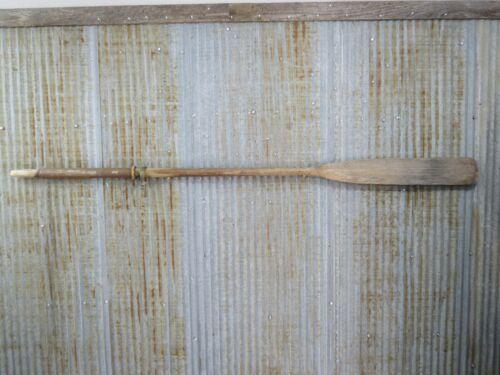 78 inch Vintage Wood Oar Canoe Paddle -(#896)