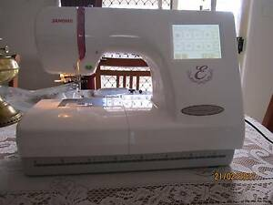 Janome 350e Embroidery Machine Sandstone Point Caboolture Area Preview