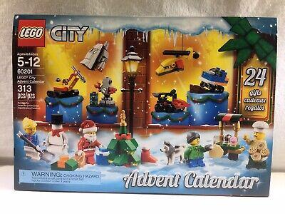 New Lego 60201 City Advent Calendar