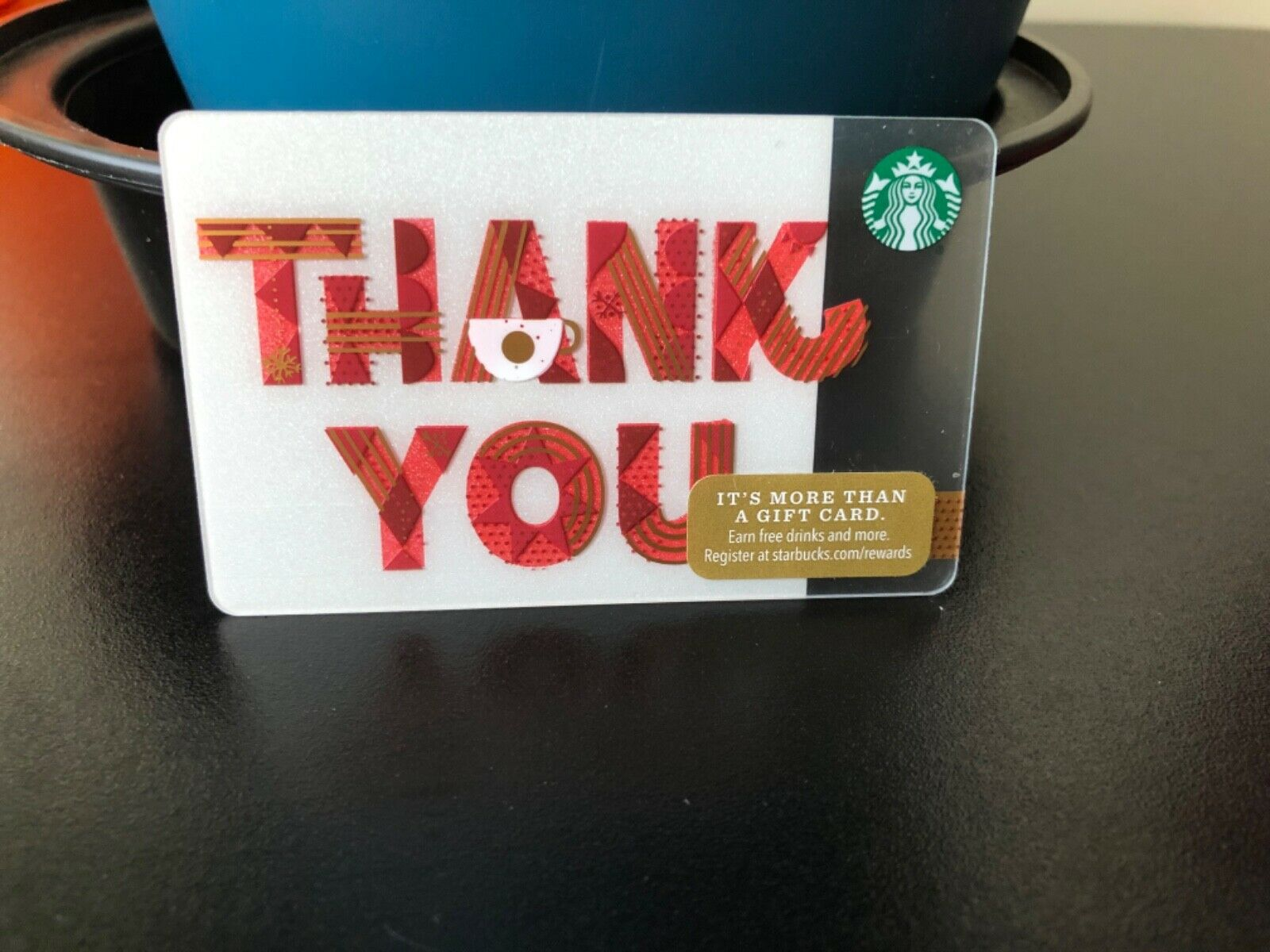 New Reloadable Thank You Starbucks Gift Card Empty  - $3.25