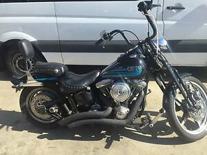 1995 Harley Davidson Badboy Springer BLACKOUT Carrum Downs Frankston Area Preview