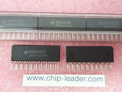2x Motorola Mcm514400z80 Ic Fast Page Dram 1mx4 80ns Cmos Pzip-20
