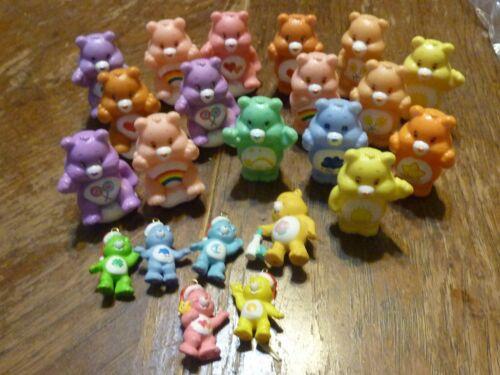 Care Bear Miniature Figures Lot Figurines Cake Toppers/PVC/Ornament TCFC