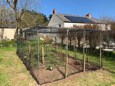 Fruit Cage Chicken Pen Garden Anti Bird Walk In 4m x 3.5m Gardener's Gift Idea