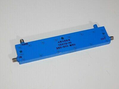 Directional Coupler Anaren 10013-10 250-500 Mhz 10db Sma 0.25-0.50 Ghz
