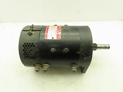 General Electric 5bc 48 Jb 334 Drive Motor Of A Crown 30wtl 24v Walkie Forklift