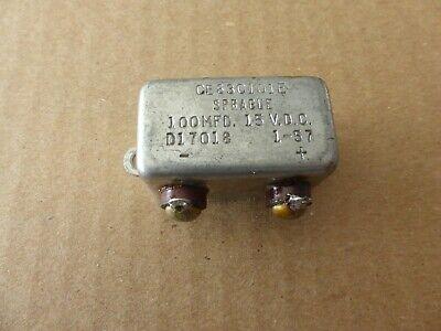 Military Hickok Tv-7bu Tube Tester Capacitor For Panel Meter