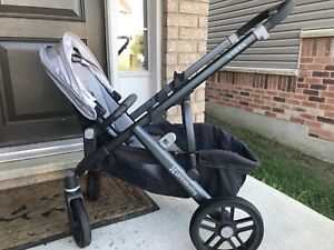 UPPAbaby VISTA stroller with double seat 10/10 BN