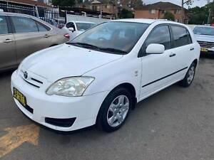 2004 Toyota Corolla ASCENT SECA Automatic Hatchback** LONG REGO ** Granville Parramatta Area Preview