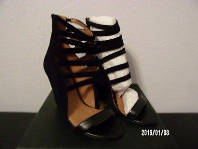 Mia Limited Edition Kane In Black Suede Wedge Size 8.5M (RTL$159) NIB! Black Suede Wedge Boots