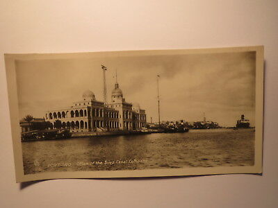 PORT SAID OFFICE OF THE SUEZ CANAL COMPANY GYPTEN FOTO KARTE