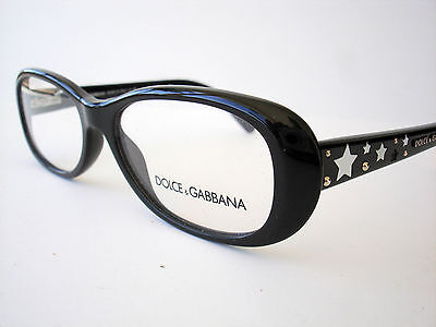 Dolce and Gabbana Eyeglasses D&G 3122 Black 501 Authentic (D And G Eyeglasses)