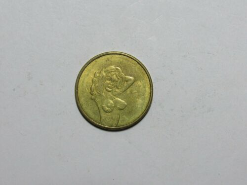 Old Token - Play Value 25 Cents - topless