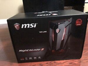 MSI Nightblade 3 VR ready package
