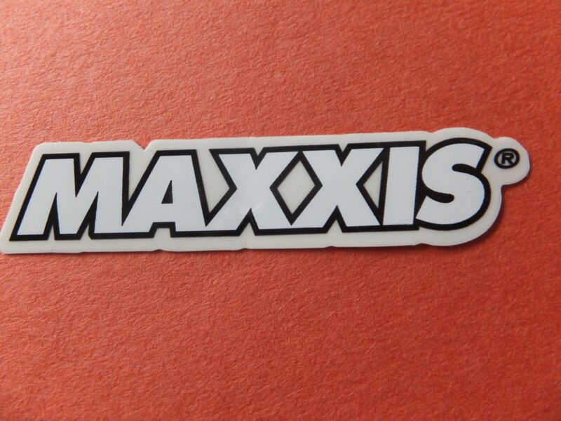 """3/"""" MAXXIS TIRES ATV Moto Street Bicycle Ride Race Car Tool Frame STICKER DECAL"""