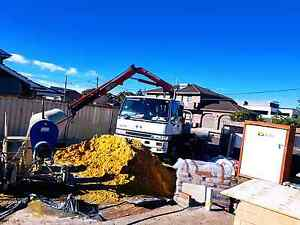 Crane truck hire - hiab truck transportation Sydney City Inner Sydney Preview