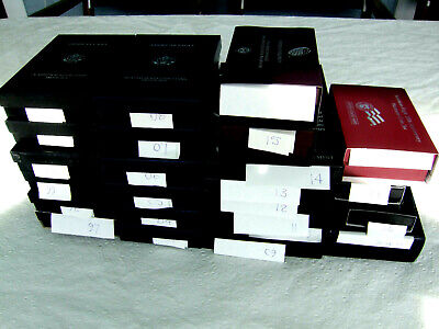 1997-2020 PF PLT EAGLE COMPL. SET IN ORIG. PKG. AS ISSUED BY -